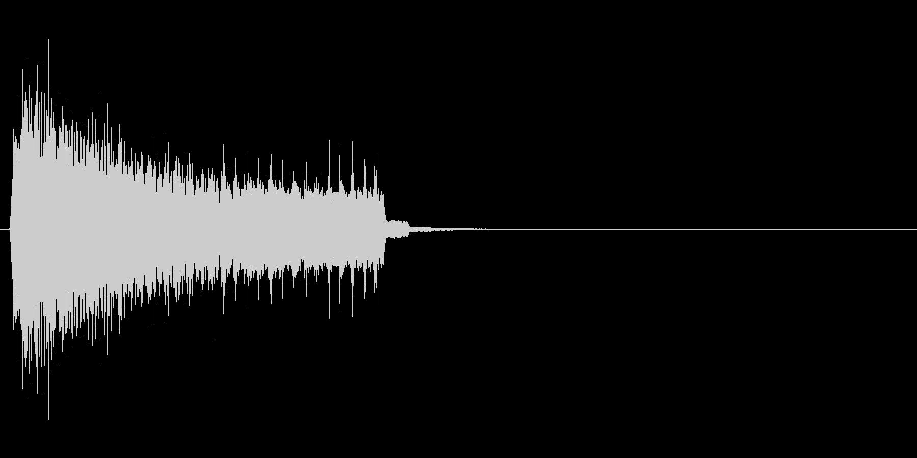 電子、電脳的な演出向けの表示、出現SEの未再生の波形