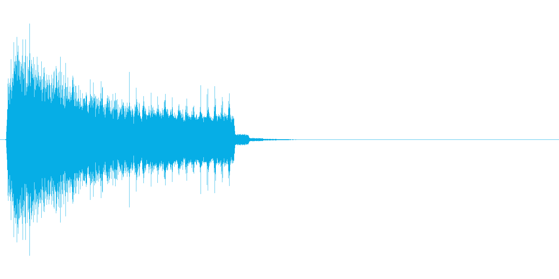 電子、電脳的な演出向けの表示、出現SEの再生済みの波形