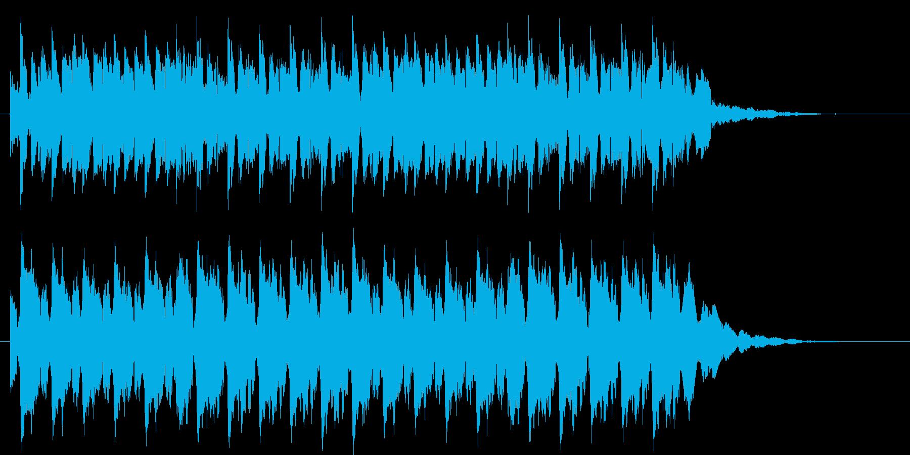 神聖なイメージです。の再生済みの波形