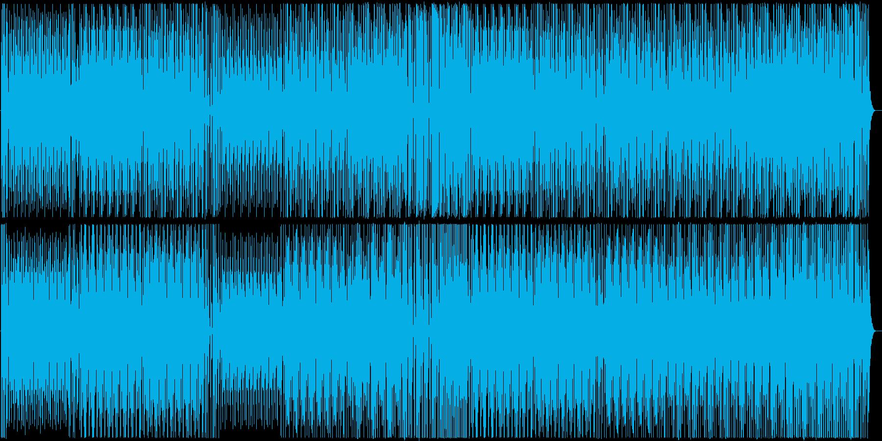 和太鼓のみの組太鼓楽曲02の再生済みの波形