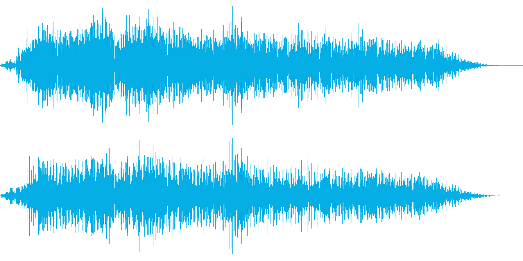 自然破壊をテーマにした楽曲の再生済みの波形