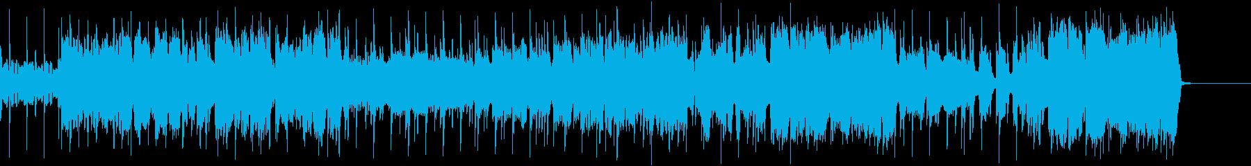 ほのぼのでノリがいいポップなフルート曲の再生済みの波形