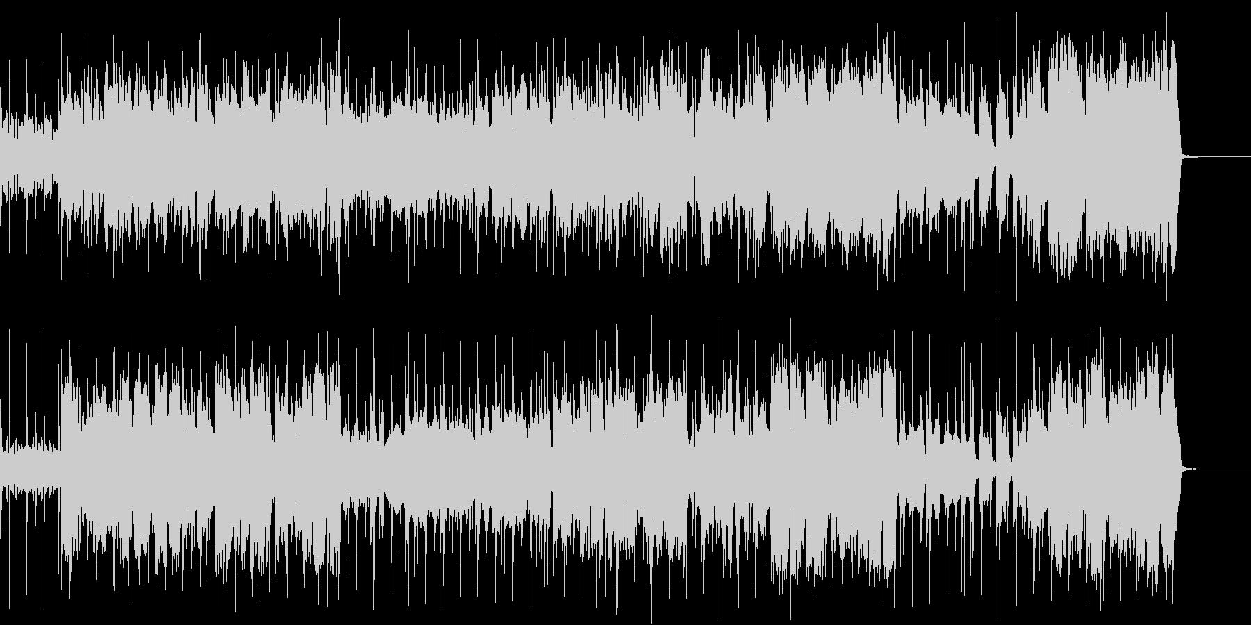 ほのぼのでノリがいいポップなフルート曲の未再生の波形
