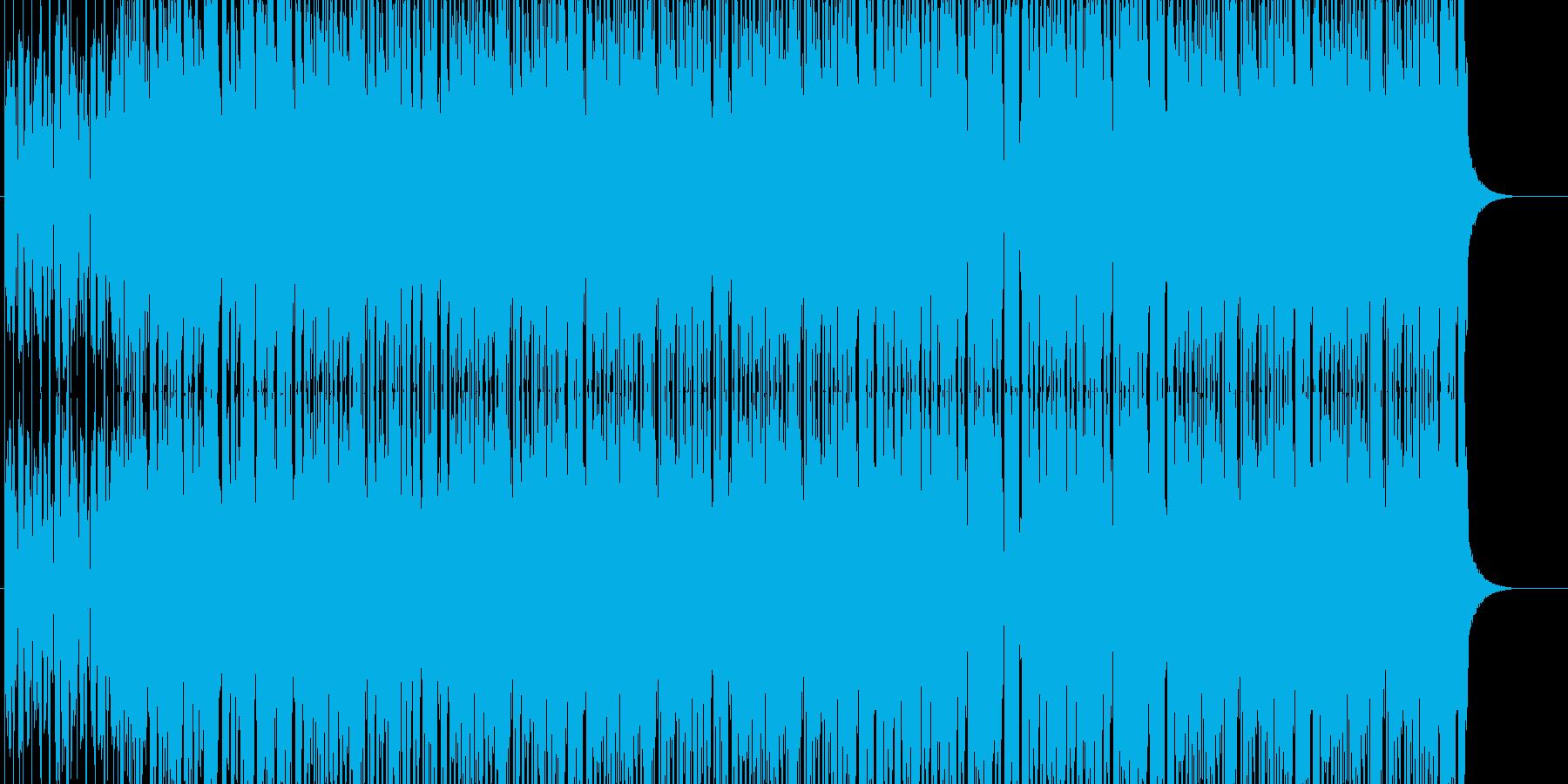 アニメや映像系に合うハウスの再生済みの波形