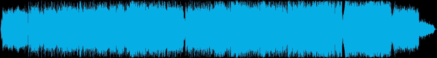 スパニッシュ系R&B風のバラードの再生済みの波形