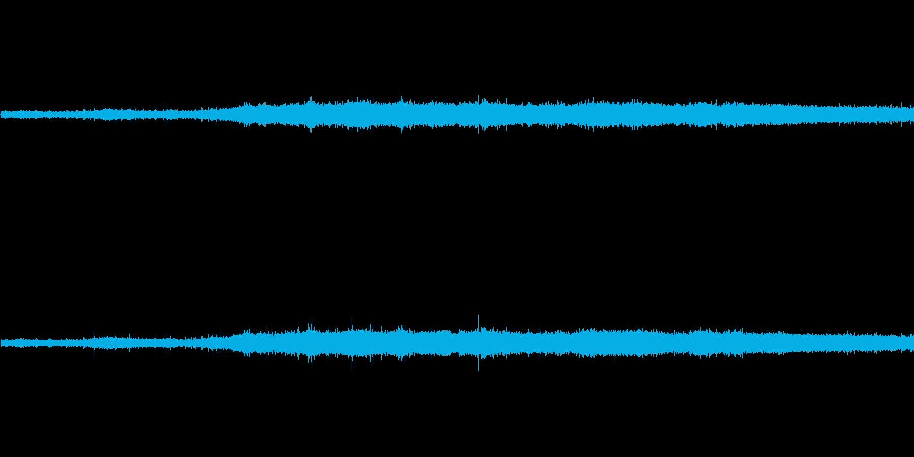 【生音】夏の日の雨音 - 01 雨の降…の再生済みの波形