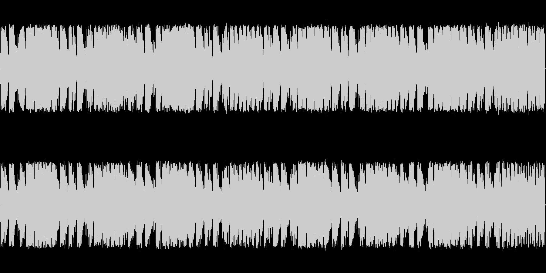 緊迫感と焦燥感のある電子系ボス系の曲<…の未再生の波形