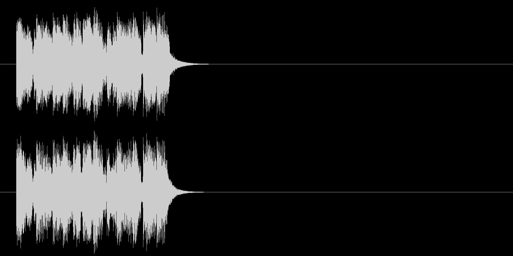 ジングル/明るい、楽しい(ポップ)の未再生の波形