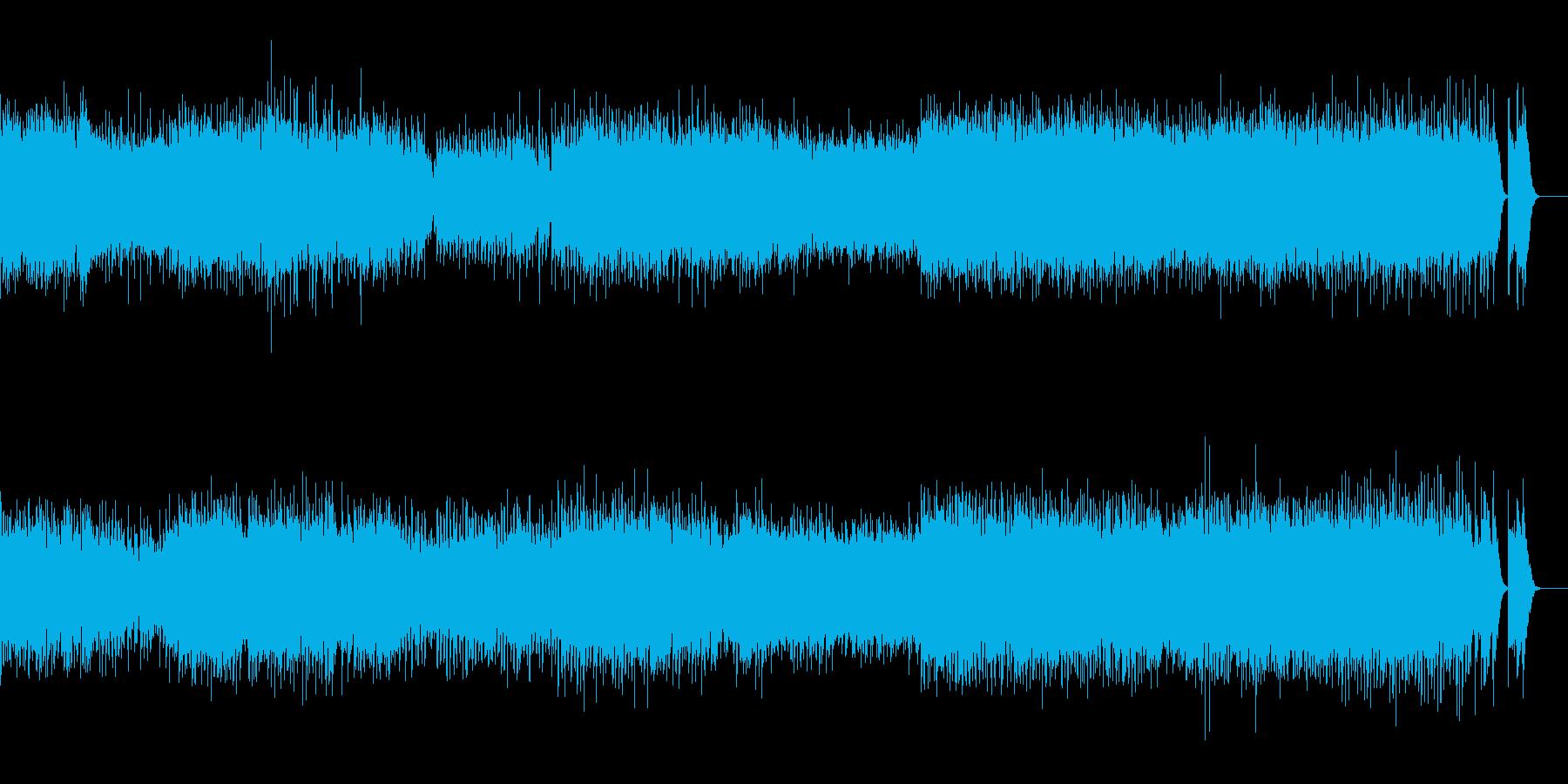 セントポール組曲 第一楽章ジーグの再生済みの波形