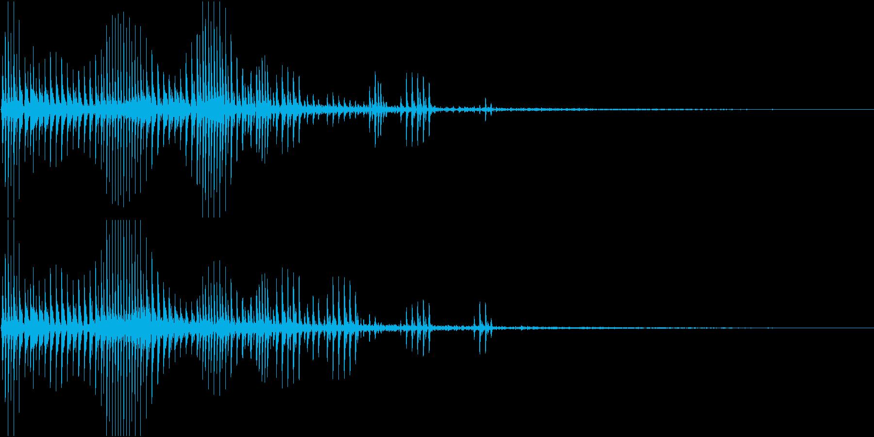 Anime 可愛いアニメ風おとぼけSE1の再生済みの波形