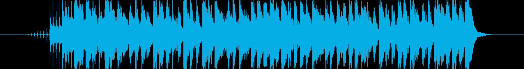 アニメの次回予告を想定した楽曲です。の再生済みの波形