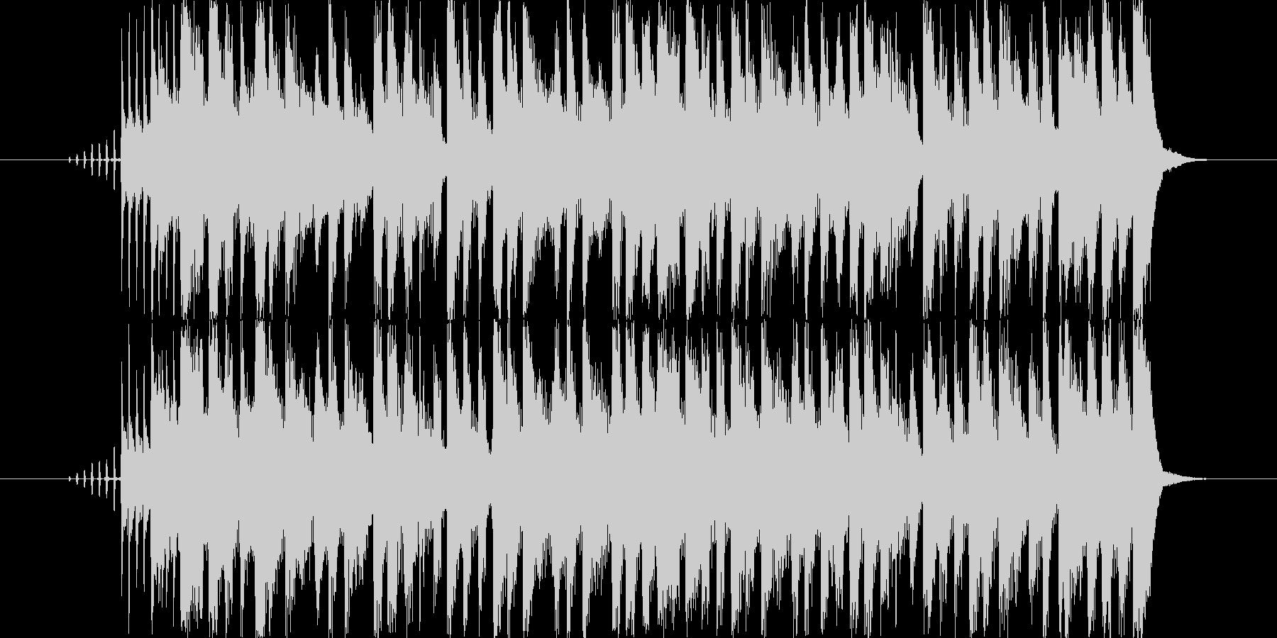 アニメの次回予告を想定した楽曲です。の未再生の波形