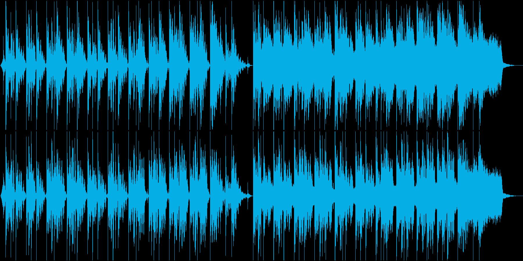 神秘的な空間の再生済みの波形