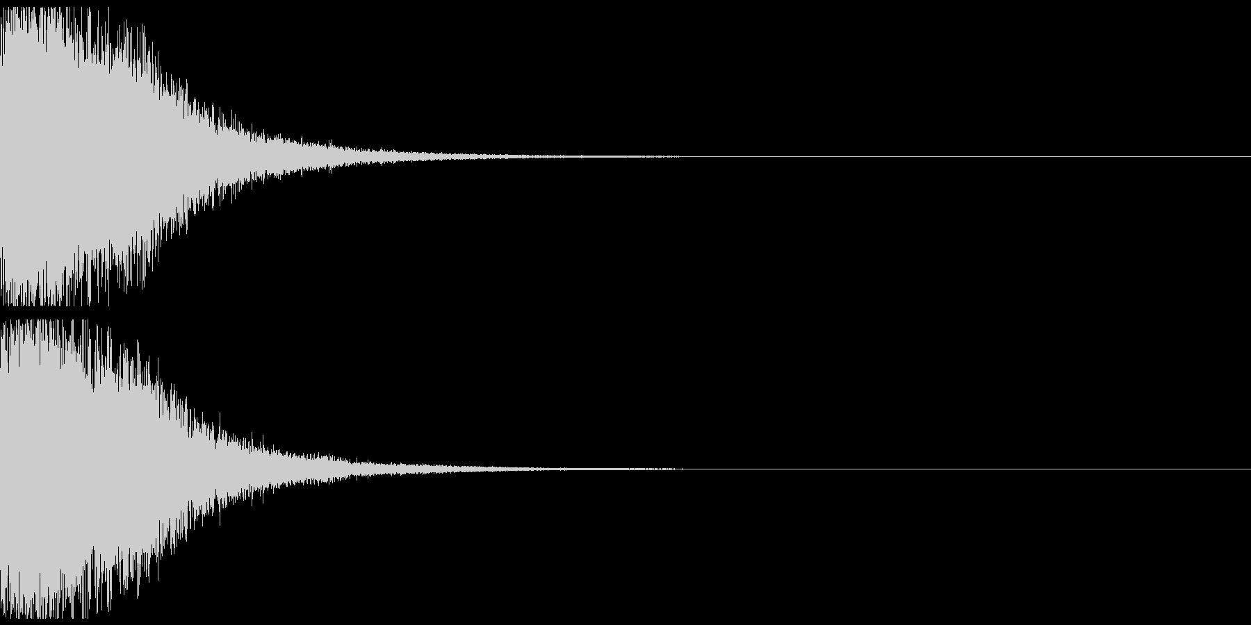 宇宙空間武器02の未再生の波形
