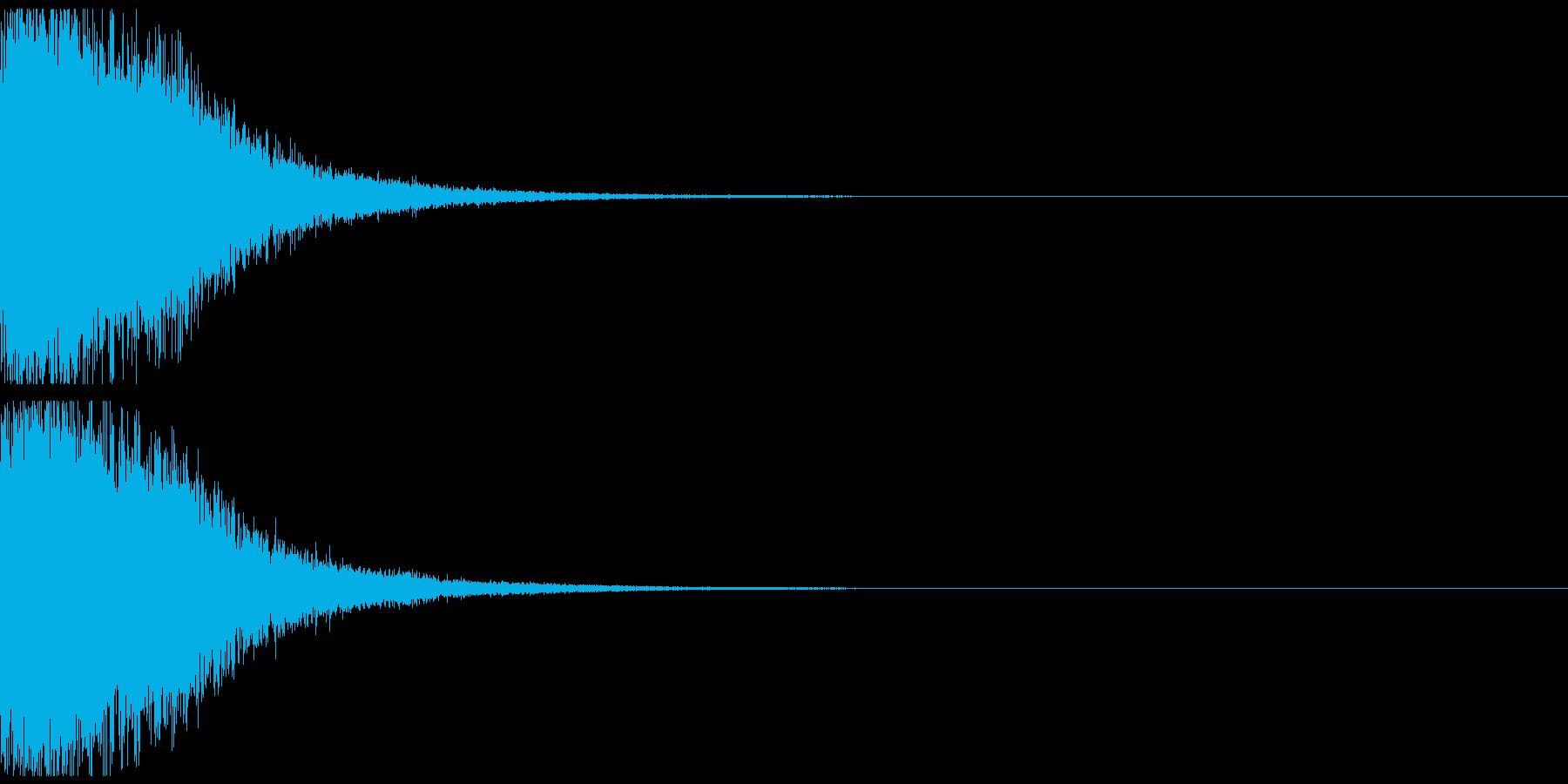 宇宙空間武器02の再生済みの波形