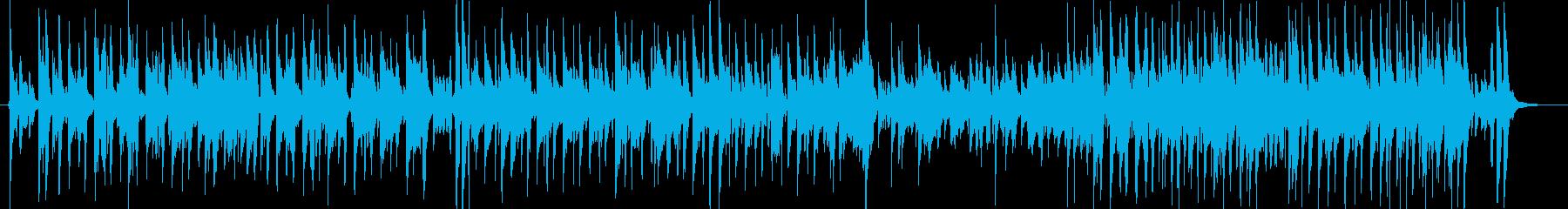 ギター・タンゴ・情熱・スパニッシュの再生済みの波形