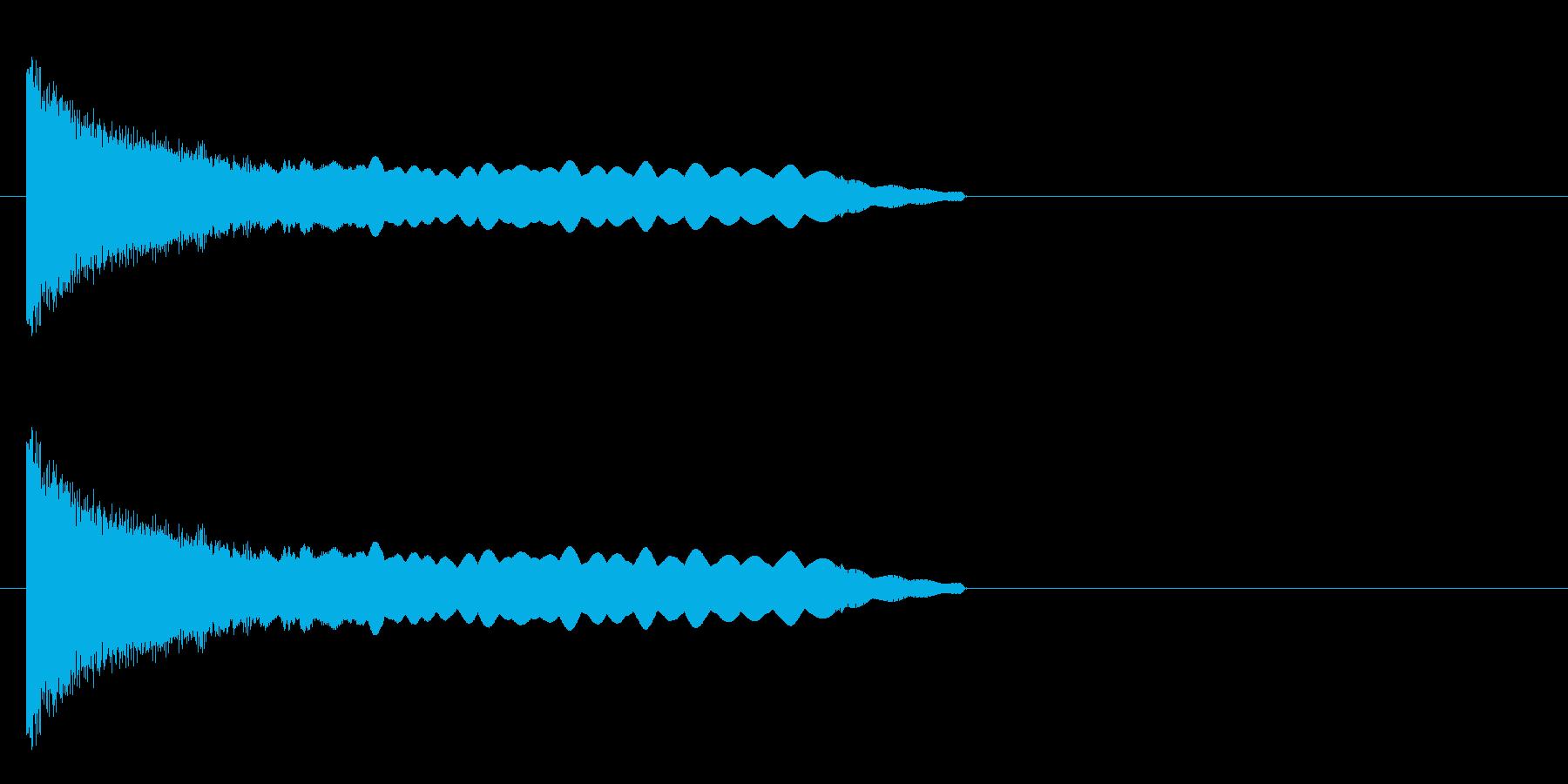 退場 ボツの再生済みの波形