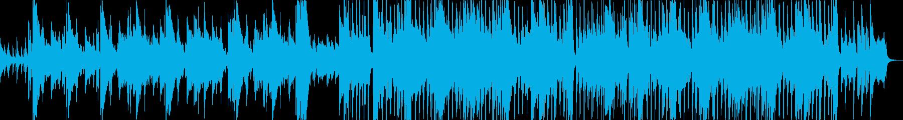 こそこそ忍び込む ピンクパンサーパロディの再生済みの波形