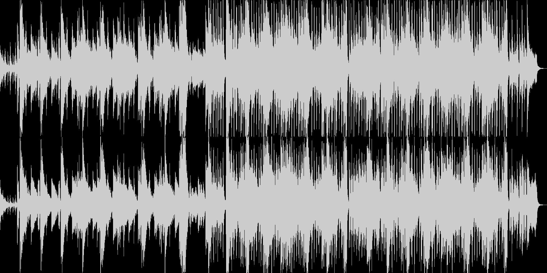こそこそ忍び込む ピンクパンサーパロディの未再生の波形