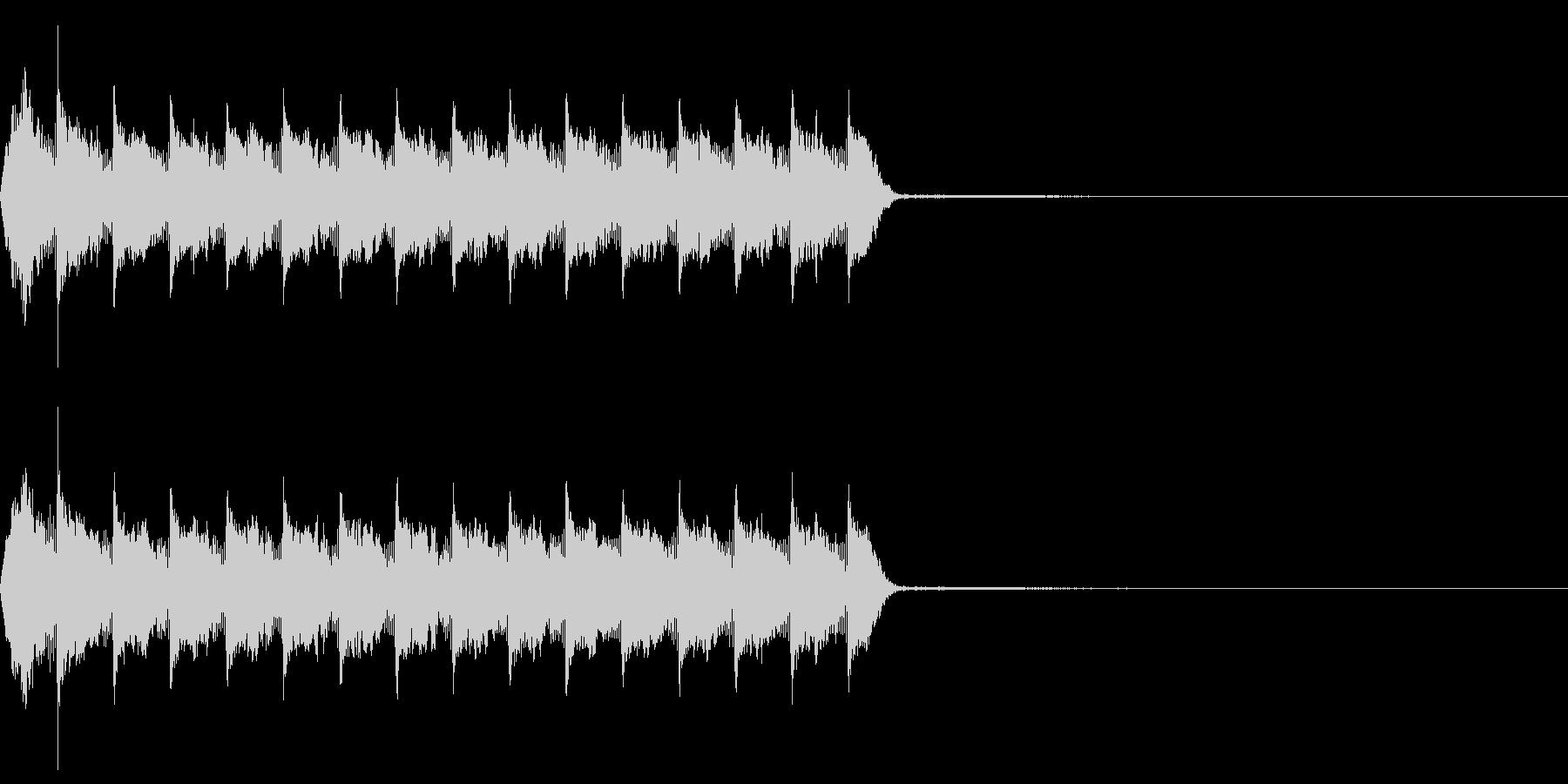 Razor レイザー小銃の連射音 2の未再生の波形