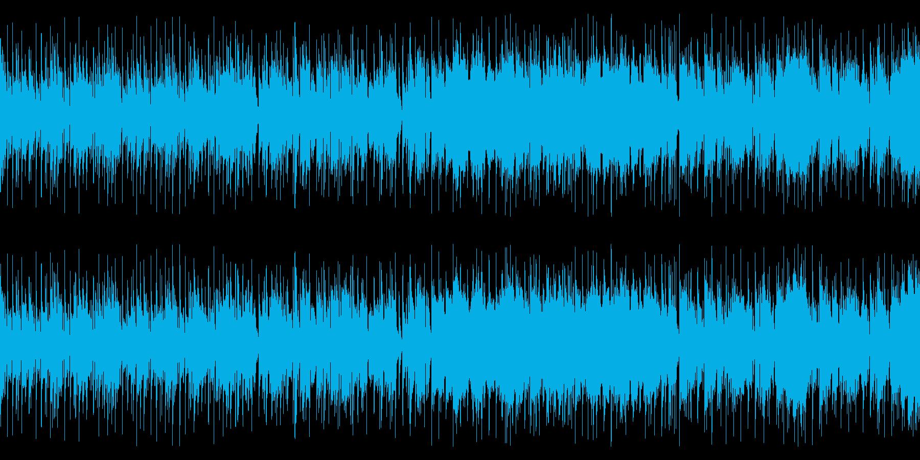 ピアノトリオ+サックスのフュージョンの再生済みの波形