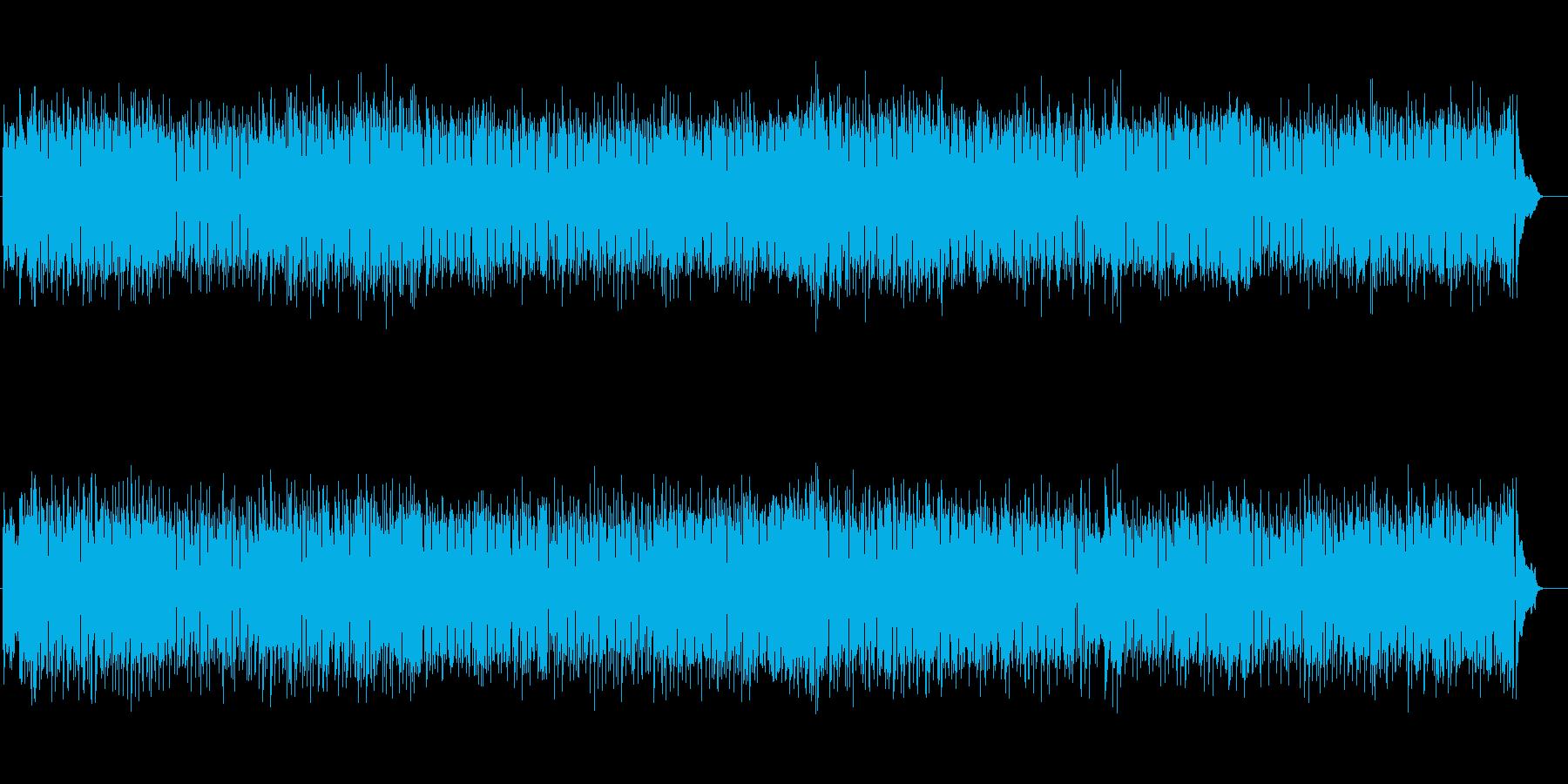 ポップ・ミュージックの再生済みの波形