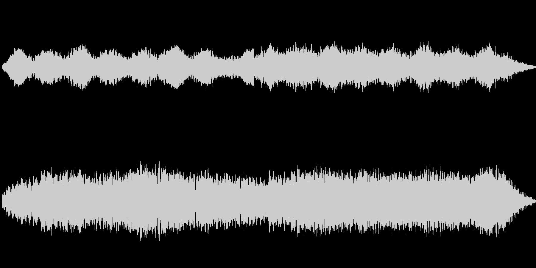 ダークファンタジー的単音フレーズ。の未再生の波形