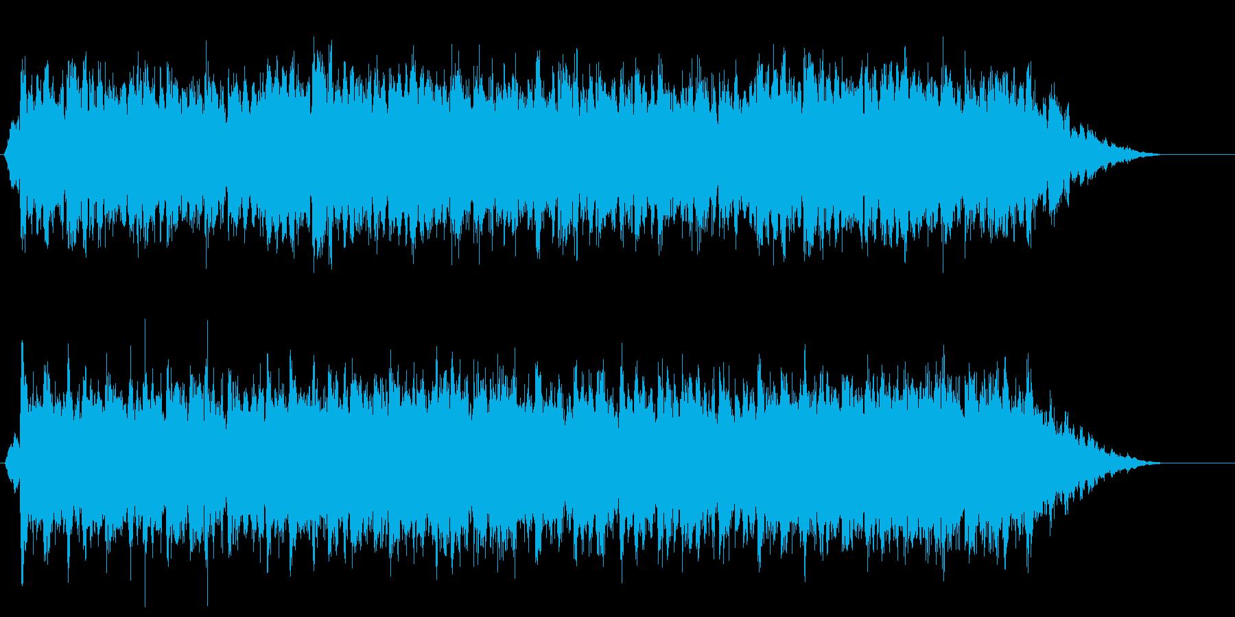 華やかなクリアジングルです。の再生済みの波形