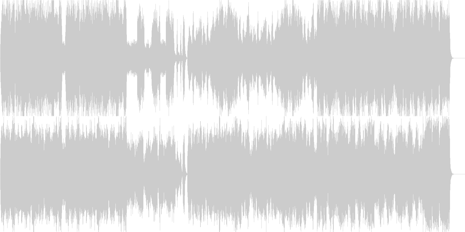 ストリングスの優雅で上品な皇室風BGMの未再生の波形