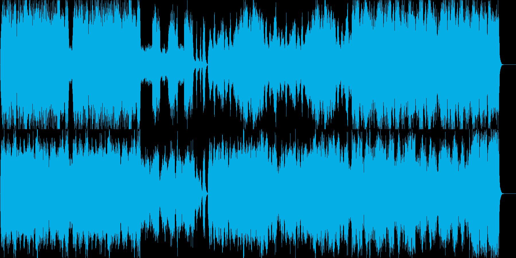 ストリングスの優雅で上品な皇室風BGMの再生済みの波形