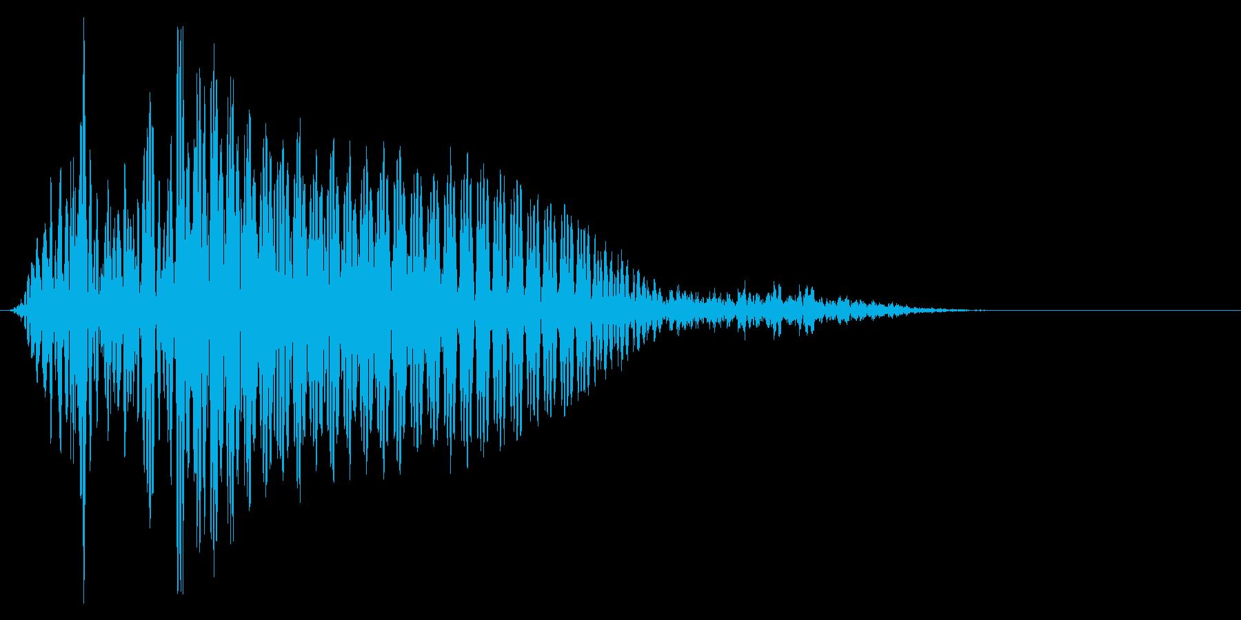 ゲーム掛け声ゾンビ1エー1の再生済みの波形