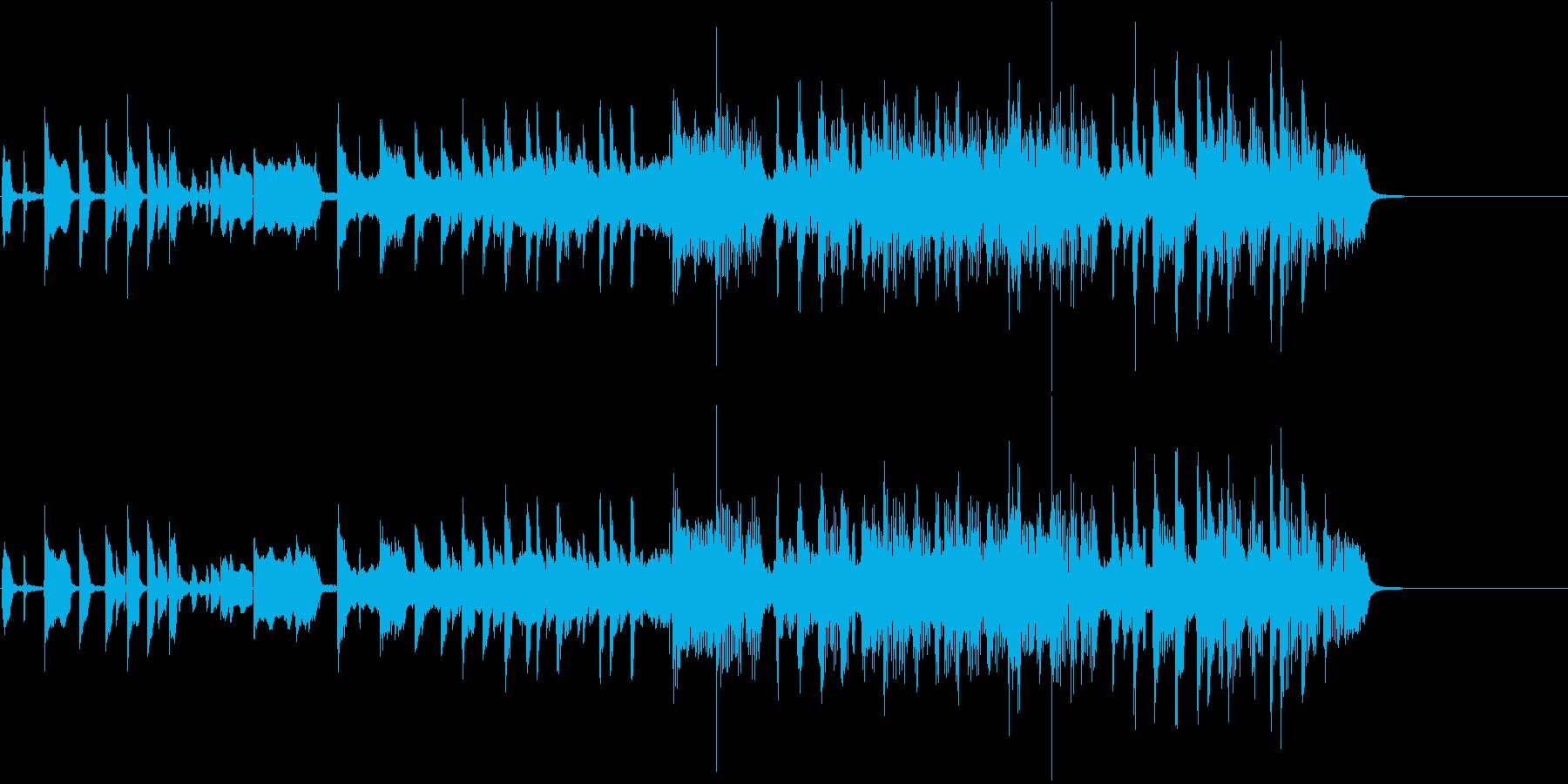15秒バージョンのロック素材です。の再生済みの波形