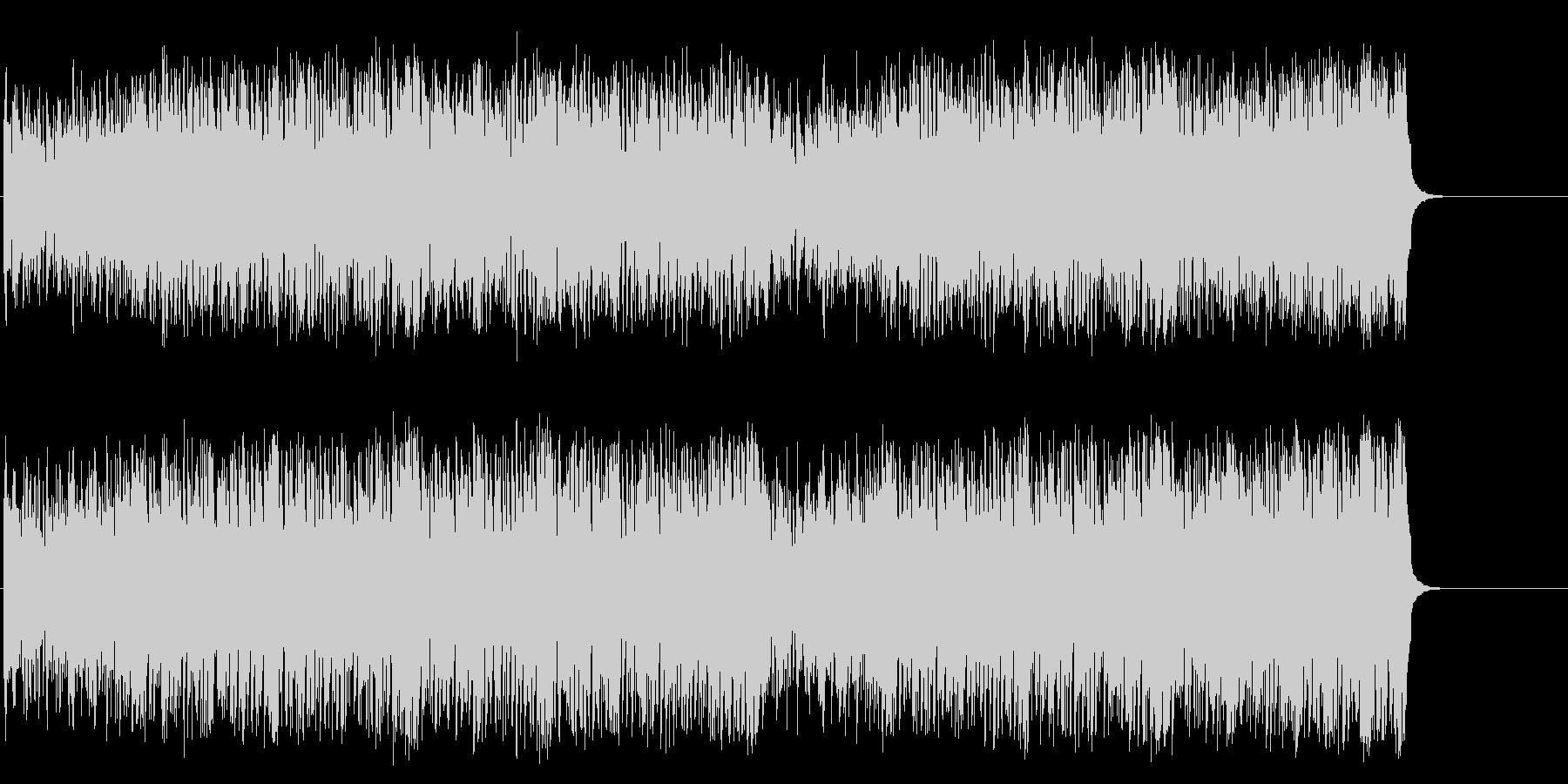 ドタバダ喜劇調のGS風ポップ/マイナーの未再生の波形