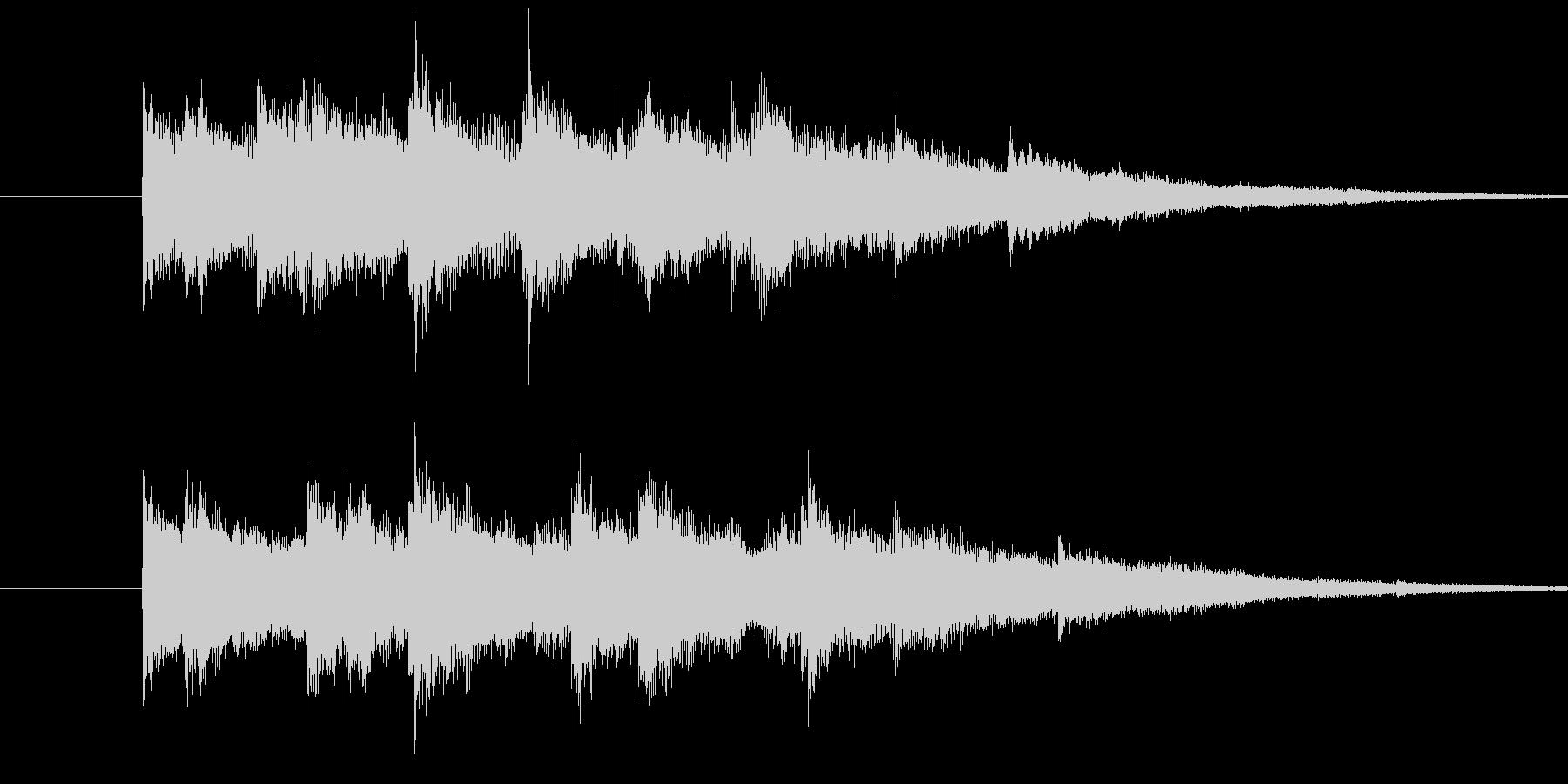 キラキラキラーン(ウインドチャイム)の未再生の波形