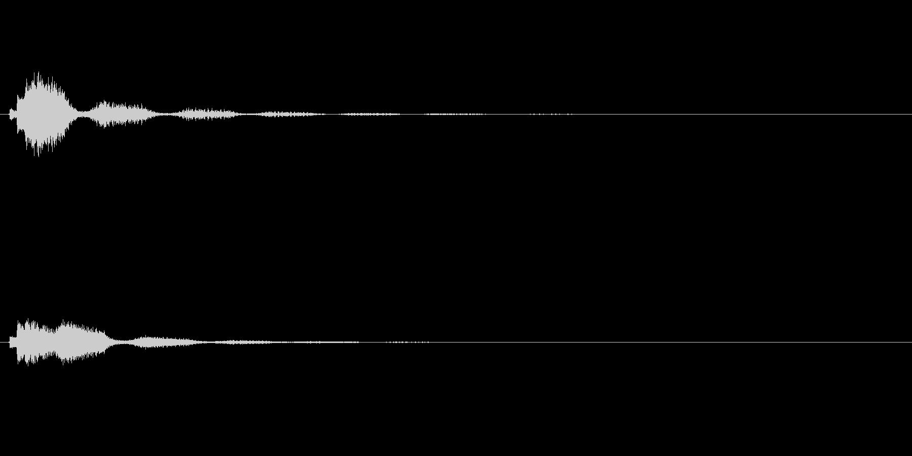 サウンドロゴ(企業ロゴ)_020の未再生の波形
