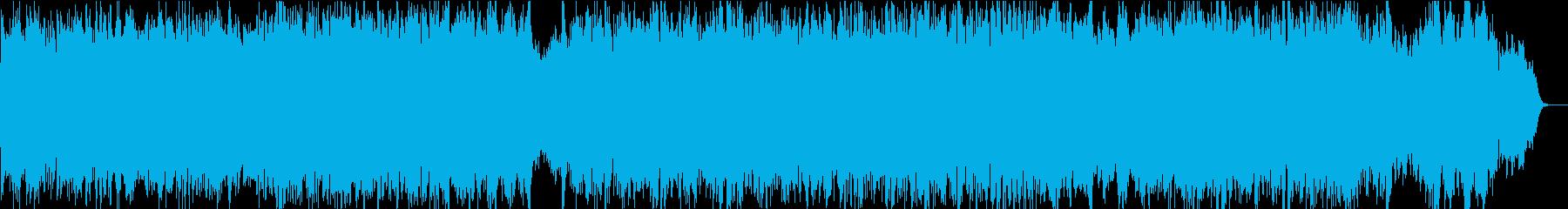 前向きで優しい感動ピアノ2ピアノと弦の再生済みの波形