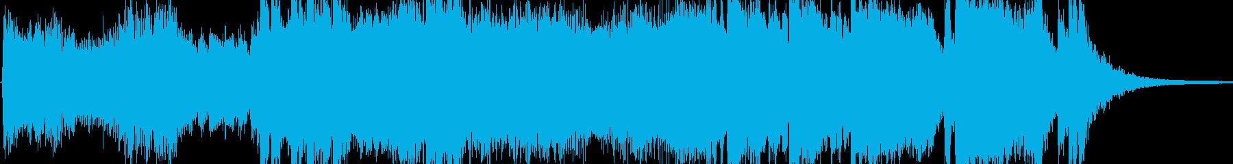 開会式の幕開けをイメージした軽快なオー…の再生済みの波形