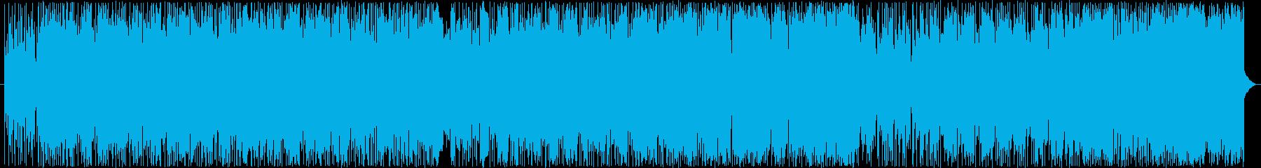 重厚かつ疾走感あるロック好きエレクトロの再生済みの波形