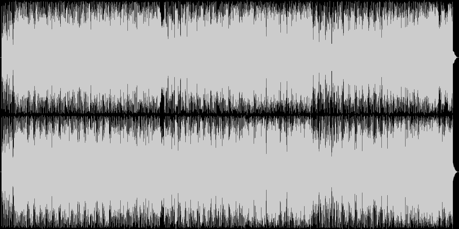 重厚かつ疾走感あるロック好きエレクトロAの未再生の波形