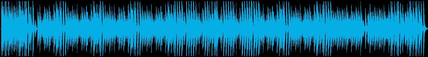 そよ風がそっと吹き抜けるイメージのラグ…の再生済みの波形