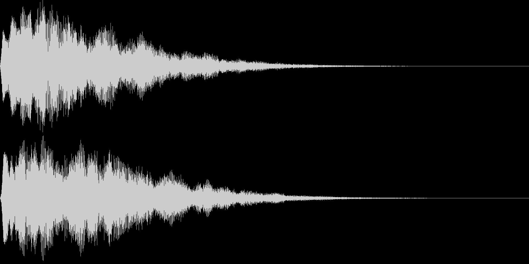 サウンドロゴ16(シンセ系)の未再生の波形
