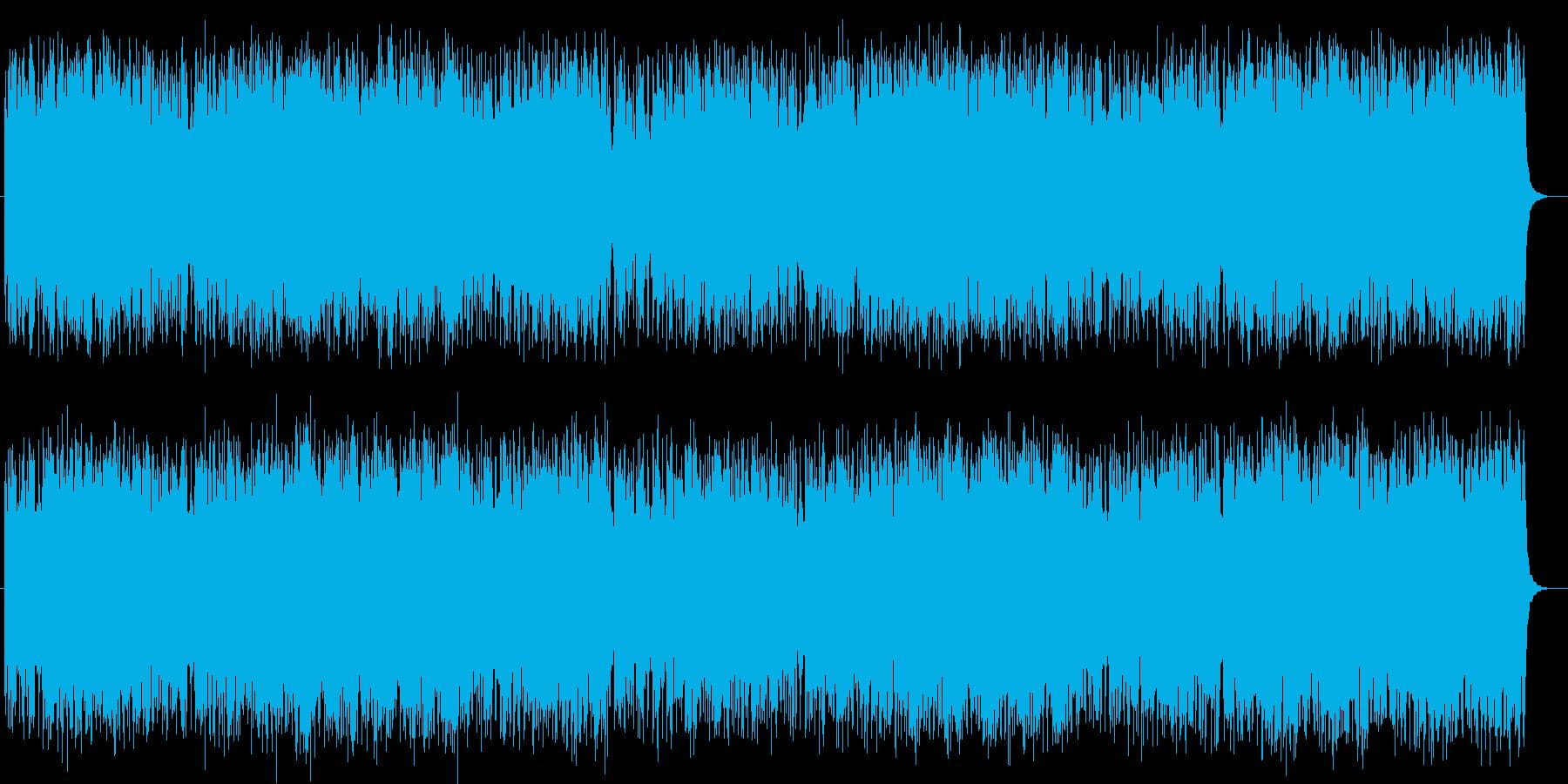 シンセのメロディが幻想的なテクノポップの再生済みの波形