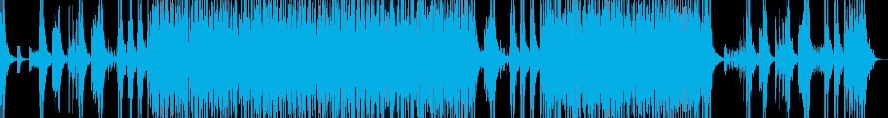 和太鼓等のリズムアンサンブルの再生済みの波形