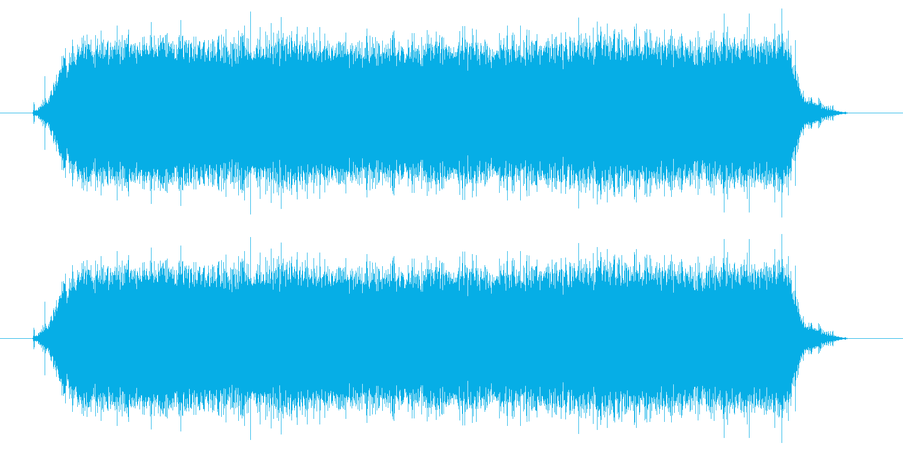 ドライヤー/送風/乾かすの再生済みの波形