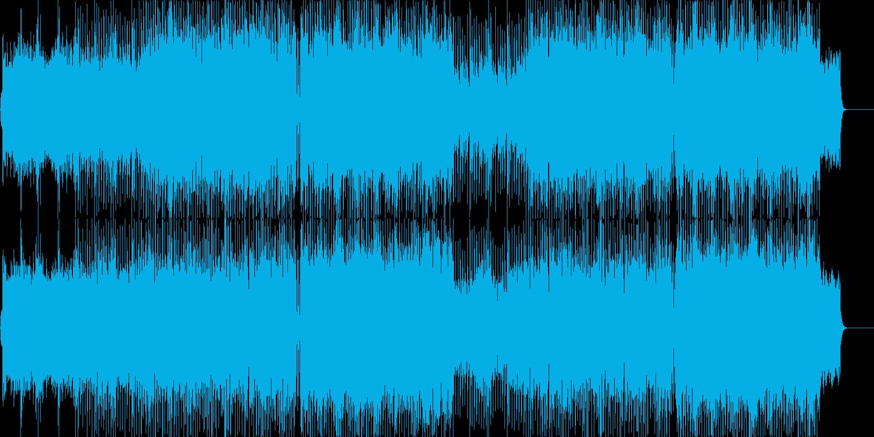 ポップなオーケストラ(物語の始まり)の再生済みの波形