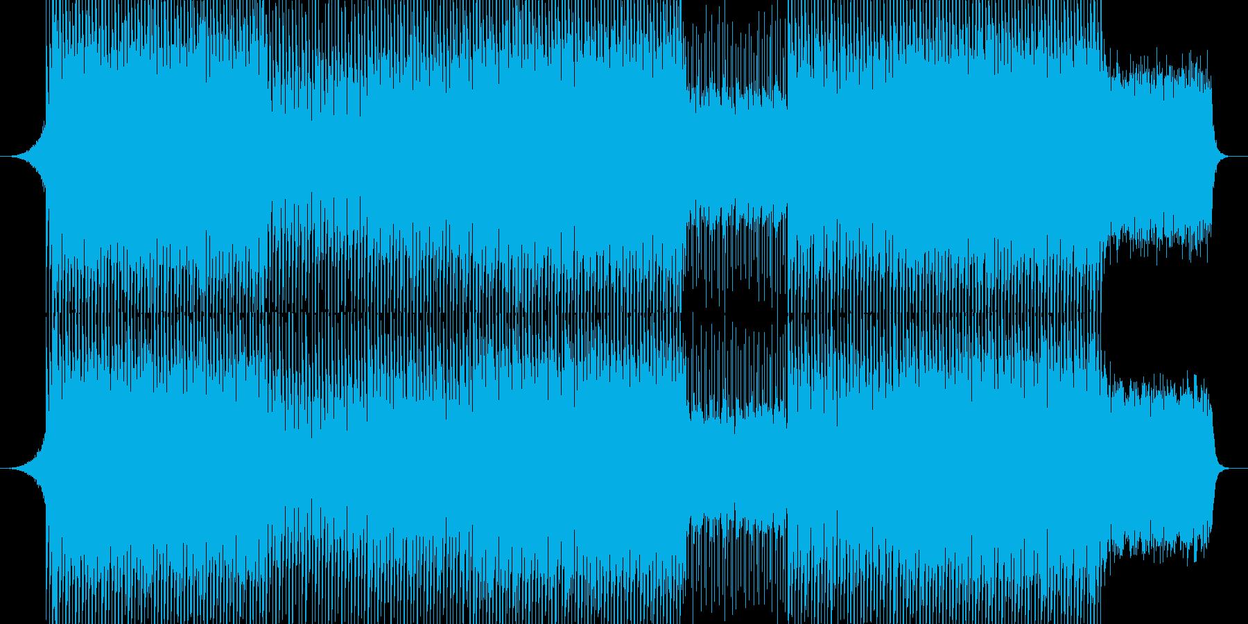 EDM明るいクラブ系キラキラシンセ-04の再生済みの波形