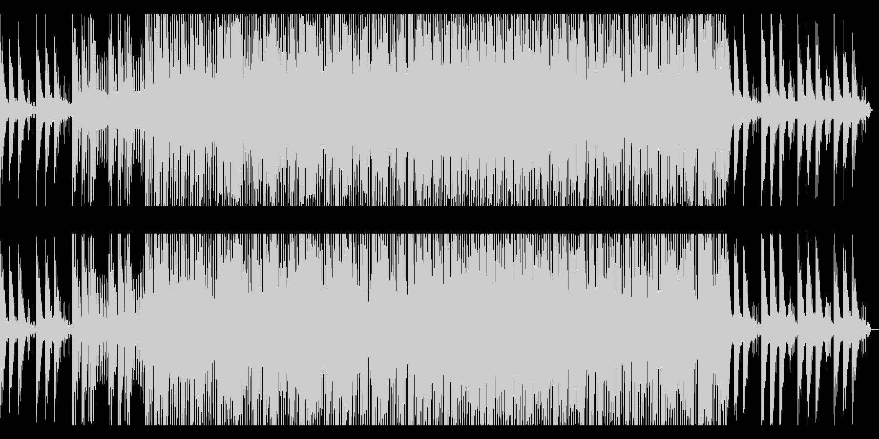 オープニングに最適なピアノEDMの未再生の波形