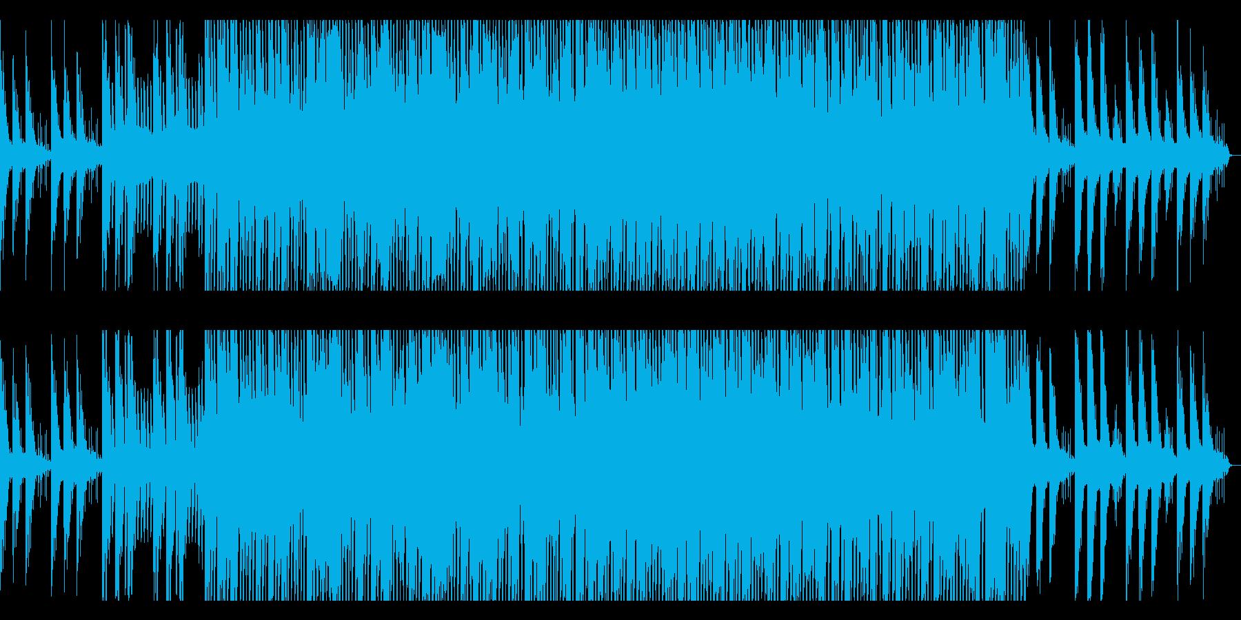 オープニングに最適なピアノEDMの再生済みの波形