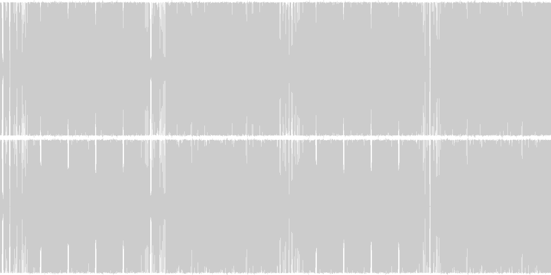 ループ対応のDubstepドロップの未再生の波形