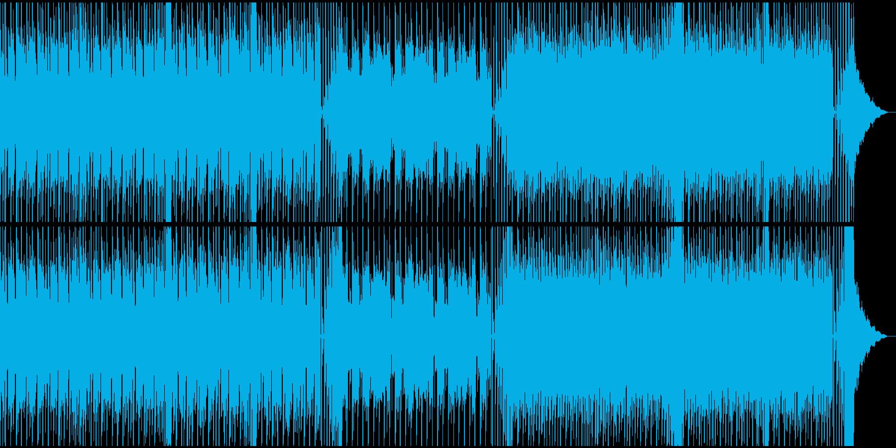 新旧のテクノが融合した楽しいテクノポップの再生済みの波形